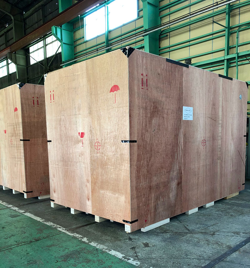 大型貨物の梱包 国内・海外向けの梱包作業 専門業 山口物流